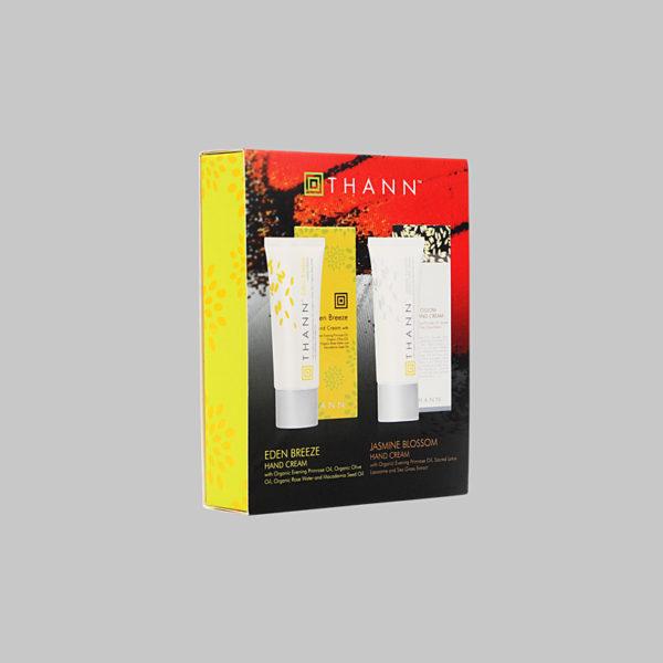 Подарочный набор. Дуэт ароматических кремов для рук Eden Breeze и Jasmine Blossom (2*40 г.)